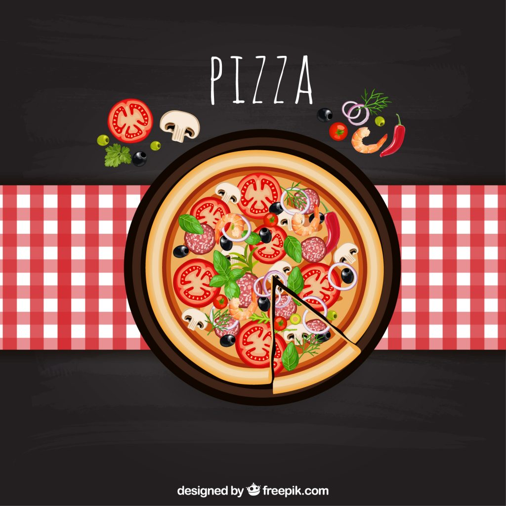 Tesla pizza